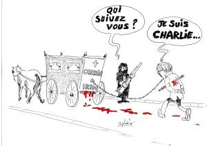 #jesuischarlie dessin charlie hebdo